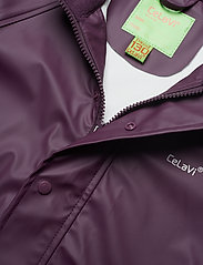 CeLaVi - Basci rainwear set, solid - vêtements de pluie - blackberry wine - 8