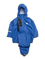 Basci rainwear set, solid - OCEANBLUE