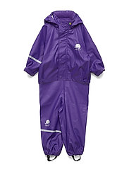 Basci rainwear set, solid - PURPLE