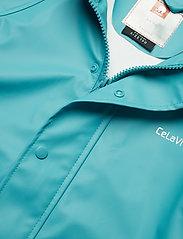 CeLaVi - Basci rainwear set, solid - regntøy - turquoise - 7