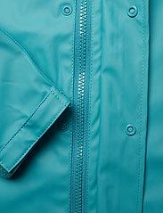 CeLaVi - Basci rainwear set, solid - regntøy - turquoise - 8