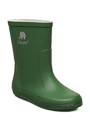 Basic wellies -solid - ELM GREEN