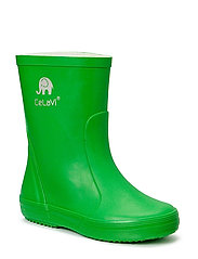 Basic wellies -solid - GREEN