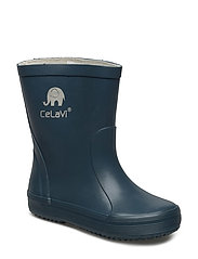 Basic wellies -solid - ICEBLUE