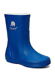 Basic wellies -solid - OCEANBLUE