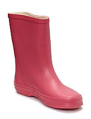 Basic wellies -solid - REAL PINK