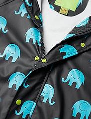 CeLaVi - Rainwear set w. elepant print - sets & suits - black - 7