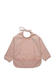 Basic PU-apron LS - MISTY ROSE