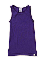 Undershirt NS -coloured wool - VIOLET