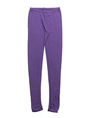 Long johns coloured wool - VIOLET