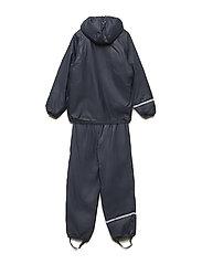 Rainwear -solid w.fleece - NAVY