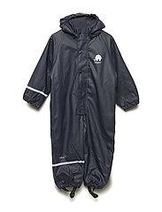 Rainwear suit - w.fleece - NAVY
