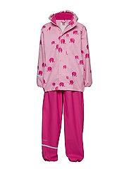 Rainwear -AOP w/o lining w. printed jacket - LILAC SACHET