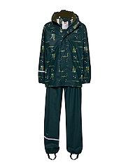 Rainwear -AOP w/o lining w. printed jacket - PONDEROSE PINE