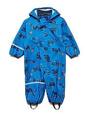 Rainwear suit -AOP w/o lining - INDIGO BUNTING
