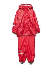 Rainwear -AOP w/o lining w. printed jacket - RED