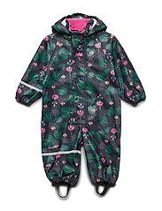 Rainwear suit -AOP w/o lining - REAL PINK