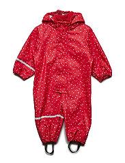 Rainwear suit -AOP w/o lining - RED