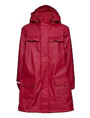 Raincoat  - w. fleece - RIO RED