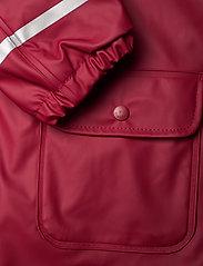 CeLaVi - Raincoat  - w. fleece - jassen - rio red - 4