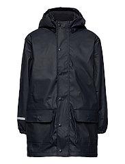 Raincoat  - w. fleece - NAVY