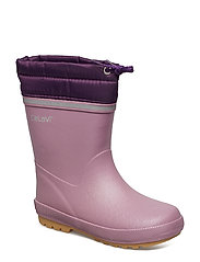 Thermal wellies w.linning - DUSKY  ORCHID