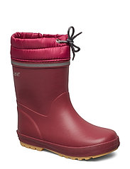 Thermal wellies w.linning - MAROON
