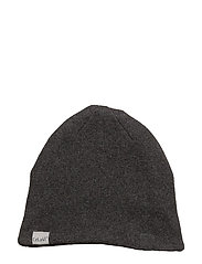 Hat - Knit - DARK GREY MELANGE