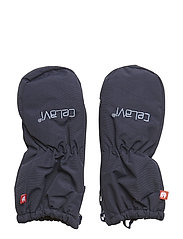 Padded mittens -solid - NAVY