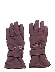 Padded glove -solid - BLACKBERRY WINE
