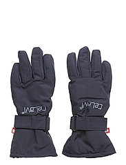 Padded glove -solid - NAVY