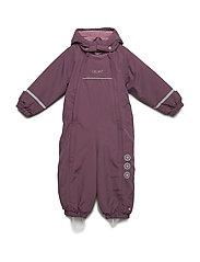 Snowsuit - Solid w 2 zippers - BLACKBERRY WINE