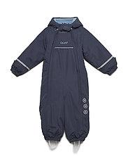 Snowsuit - Solid w 2 zippers - NAVY
