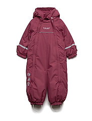 Snowsuit - Solid w 2 zippers - MAROON