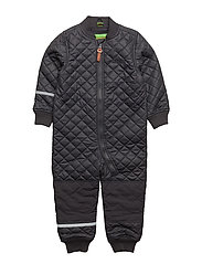 PU thermal suit -solid - DEEP STONE GREY