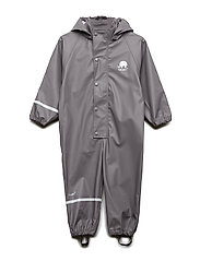 Rainwear suit -PU - GREY