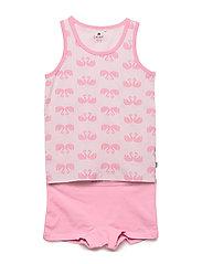 Underwear set - w. girl print