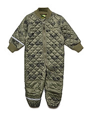 Basic thermal suit - AOP - DUSTY OLIVE