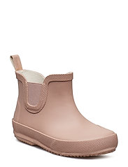 Basic wellies short - solid - MISTY ROSE