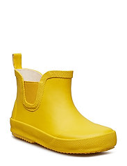 Basic wellies short - solid - YELLOW