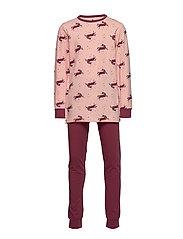 Pyjamas w. AOP - SILVER ROSA