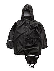 Basic rainsuit, PU - BLACK STYLE 1145