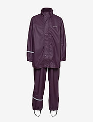 CeLaVi - Basci rainwear set, solid - regnkläder - blackberry wine - 2
