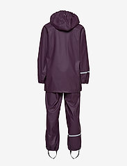 CeLaVi - Basci rainwear set, solid - regnkläder - blackberry wine - 3