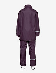 CeLaVi - Basci rainwear set, solid - regnkläder - blackberry wine - 4