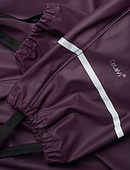 CeLaVi - Basci rainwear set, solid - vêtements de pluie - blackberry wine - 13