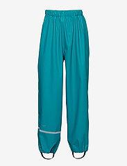 CeLaVi - Basci rainwear set, solid - regntøy - turquoise - 5