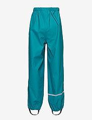 CeLaVi - Basci rainwear set, solid - regntøy - turquoise - 6