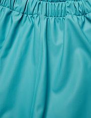 CeLaVi - Basci rainwear set, solid - regntøy - turquoise - 11