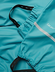 CeLaVi - Basci rainwear set, solid - regntøy - turquoise - 12